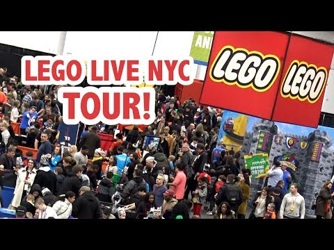 Tour of LEGO Live NYC 2018 Event