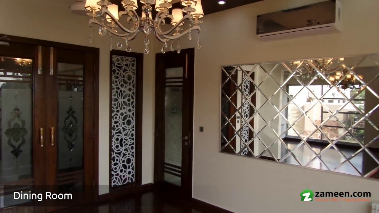1 Kanal Beautiful Designer House Is Available For Sale In