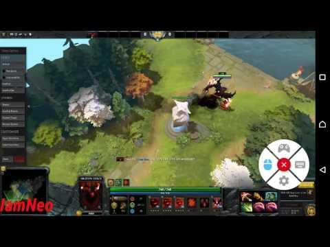 DOTA 2 Gameplay Test On Android - Liquid Sky.