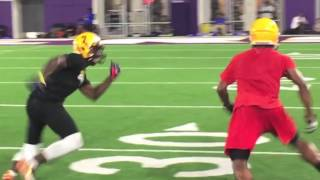 Ja'Marr Chase dominates defenders at LSU's camps