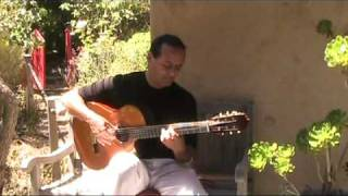 The Shadow of Your Smile - Michael Marc - Spanish Acoustic Guitar