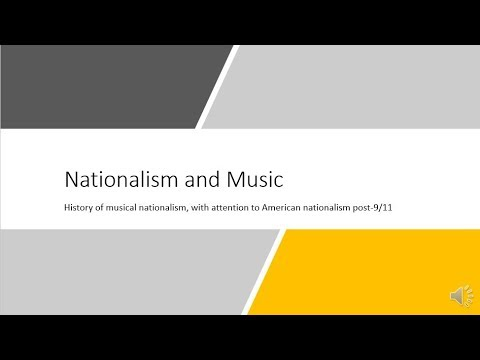 Music and Nationalism