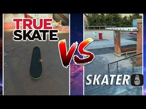 TRUE SKATE Vs SKATER APP S.K.A.T.E