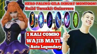 BEST BUILD GUINEVERE JESS NO LIMIT MOBILELEGENDS | AUTO LEGENDARY