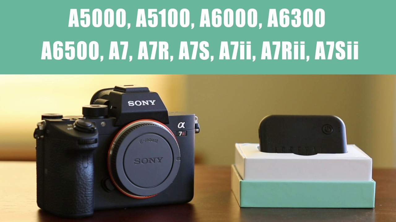 Sony Camera Configuration | Arsenal Support Center