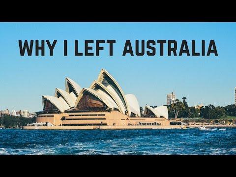 Why I left Australia