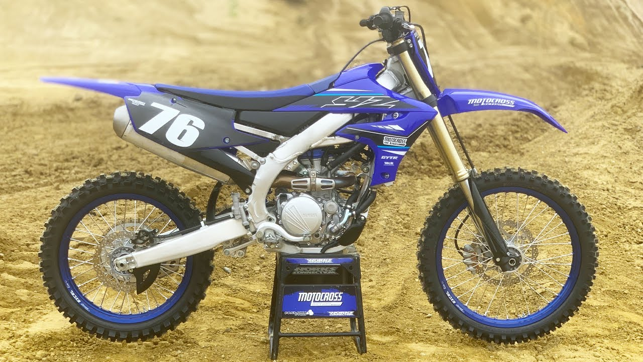First Ride! 2021 Yamaha YZ250F