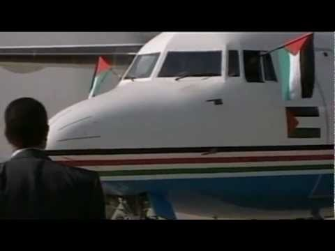 Palestinian Airlines Fly Again - BBC News Report