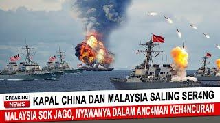 Download BERITA TERKINI ~ KAPAL CHINA DAN MALAYSIA SALING SERR4NG, MALAYSIA S0K JAGO NYAWANYA DALAM ANC4MAN