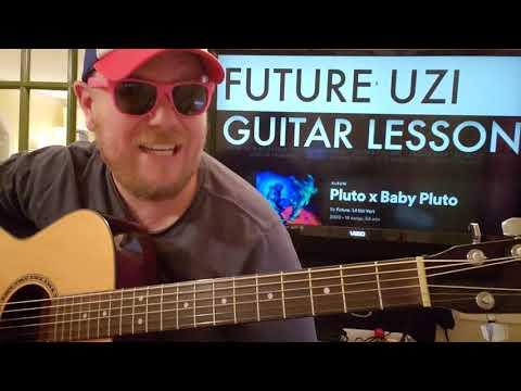 How To Play Drankin N Smokin Guitar Future Lil Uzi Vert // easy guitar tutorial beginner lesson
