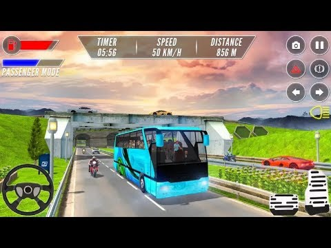 MODERN BUS DRIVING SIMULATOR GAME #Bus Transporter Games To Play #Games For Kids Free Online - 동영상
