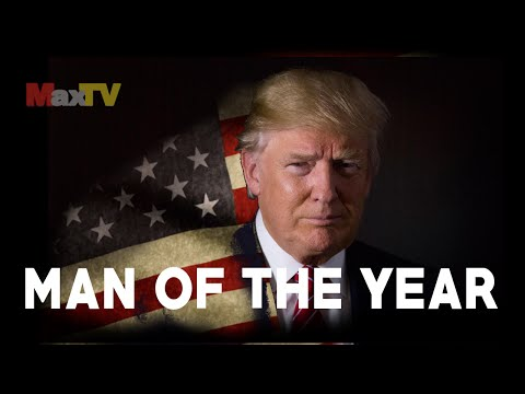 MAN OF THE YEAR - Donald J. Trump - Człowiek Roku MaxTV