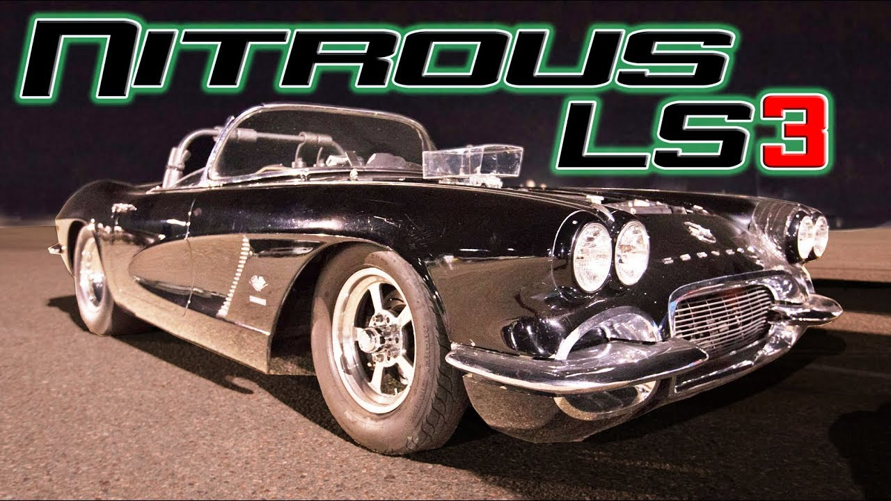 Old School Corvette OWNS Everybody! - YouTube