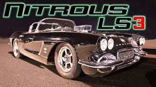 Old school Corvette OWNS Everybody!