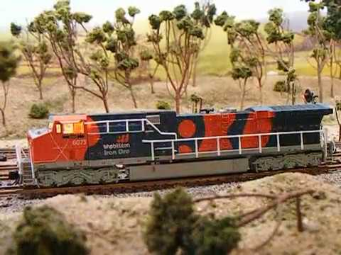 N Scale BLI BHP AC6000 loco review