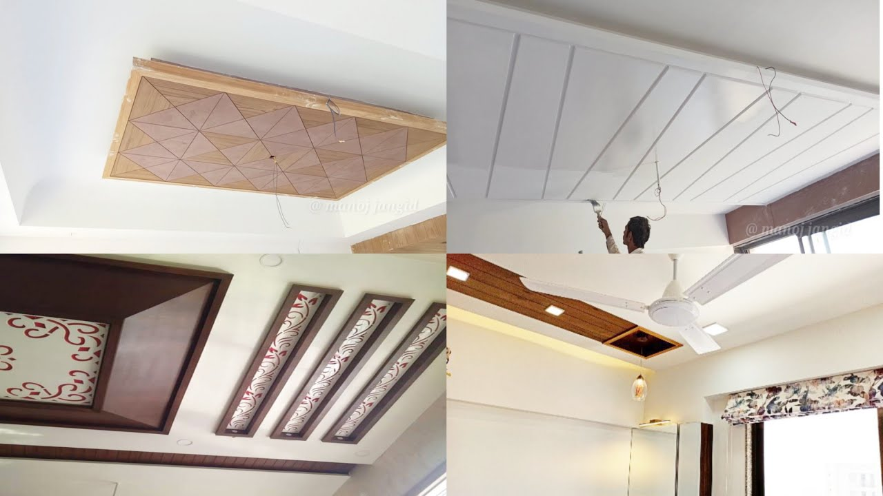 Latest false ceiling design for living room and Bedroom! top wooden ceiling  design in india