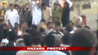 Hazaras protest against renaming of NWFP as Khyber Pakhtunkhwa