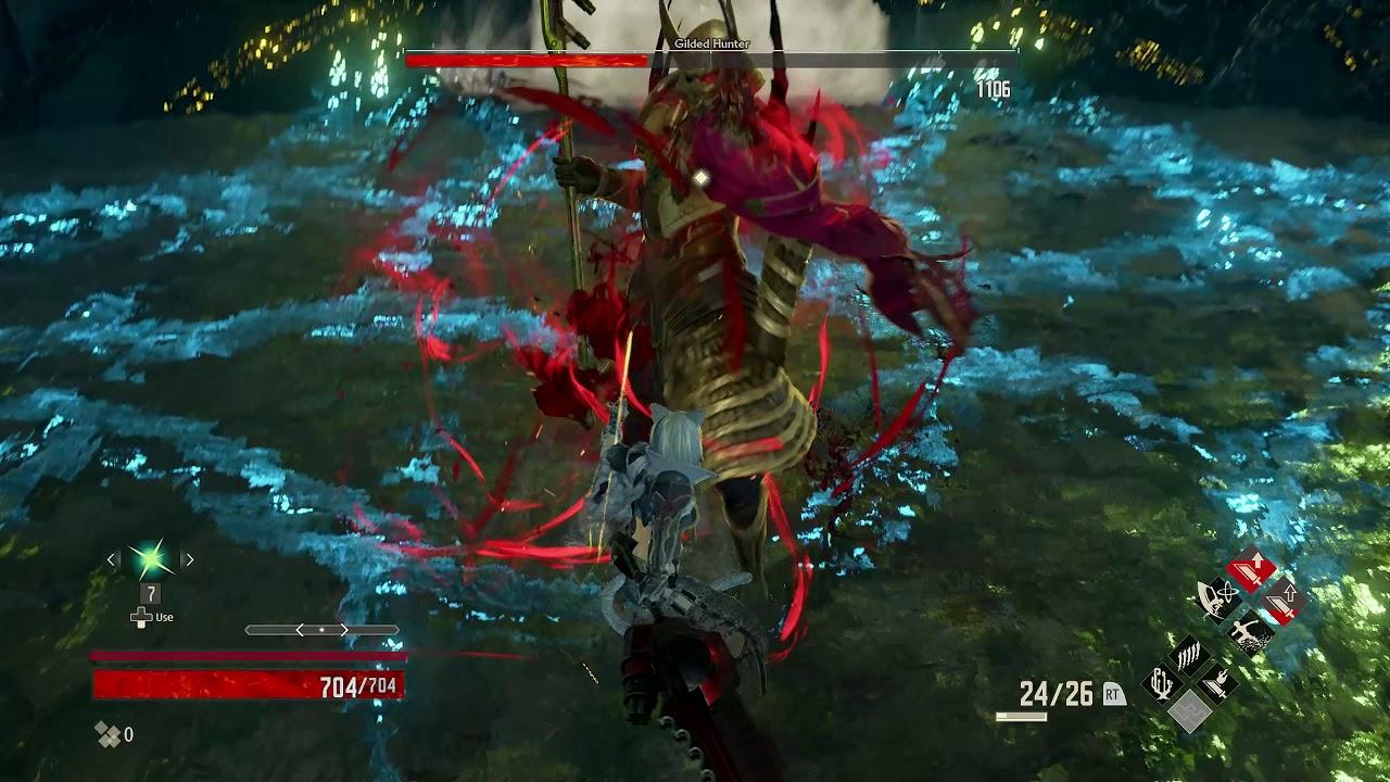 Gilded Hunter – Level 1 – SOLO NO DAMAGE KILL – [Code Vein]