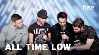 """All Time Low Takes Fuse's """"Which Pop-Punk Band Are You?"""" Quiz   Fuse"""