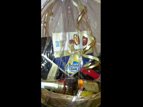 Chocolate and champagne delivery in Ukraine