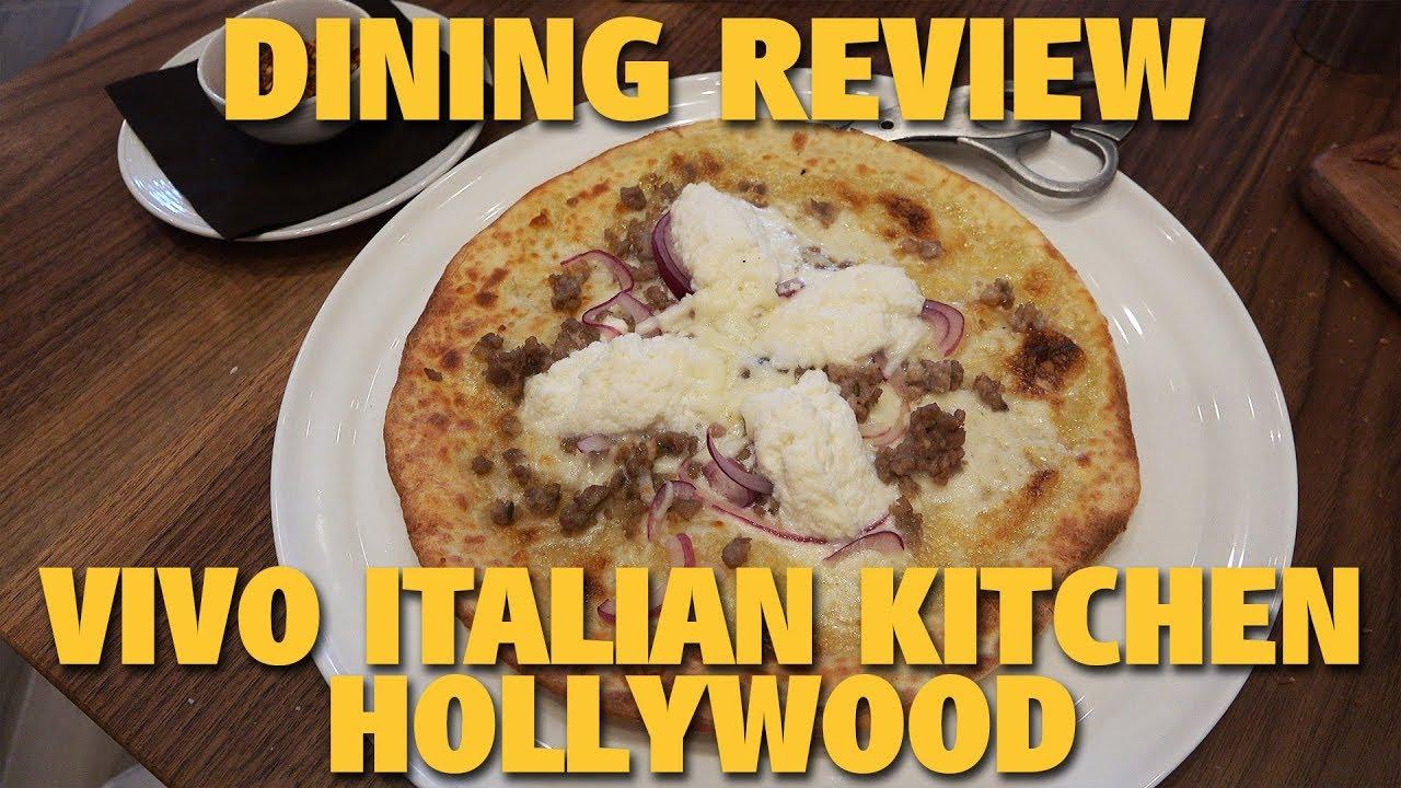 Vivo Italian Kitchen Universal Studios Hollywood Youtube