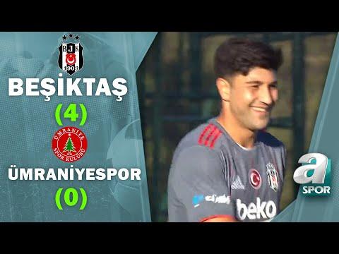 Beşiktaş 4-0 Ümraniyespor GENİŞ MAÇ ÖZETİ / Hazırlık Maçı / 02.09.2021