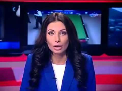 Ведущая новостей показала класс в прямом эфире - News Presenter Showed Class Live Online