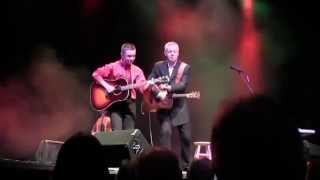 "Tommy Emmanuel & Parker Hastings  - ""Back Home Again in Indiana"""