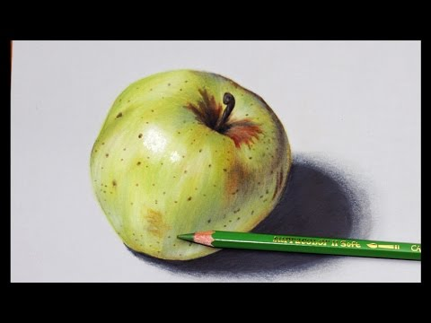 How to Draw an Apple, Hyper realistic art
