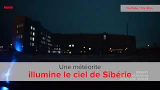 Russie: une météorite illumine le ciel de Sibérie
