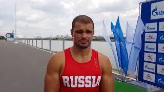 Василий Погребан -  чемпион России-2018 в гребле на байдарке-двойке 500 м