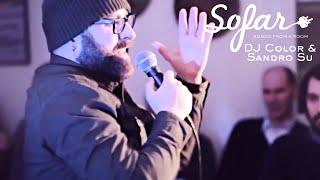 DJ Color & Sandro Su - Mezzanotte ft. Abba Zabba | Sofar Trieste