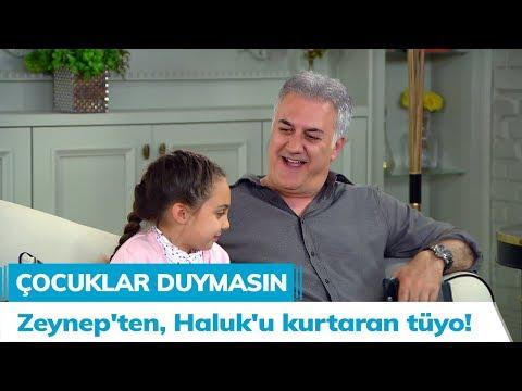 Zeynep'ten, Haluk'u kurtaran tüyo! - Çocuklar Duymasın 43. Bölüm