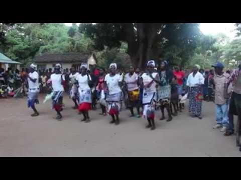 Chilimika dance from Mpamba, Nkhata Bay Malawi