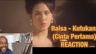 #Raisa - Kutukan (#Cinta Pertama) (Official Music Video) 🇬🇧 REACTION | SHE's OUT OF THIS WORLD |
