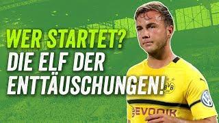 Die Elf der Enttäuschungen des Bundesliga-Auftakts! feat. Bayern, Dortmund und Schalke!