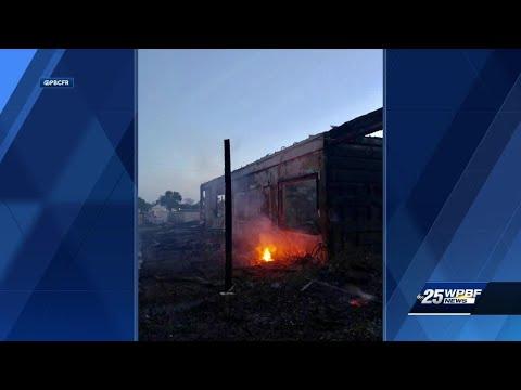 3 horses killed in barn fire
