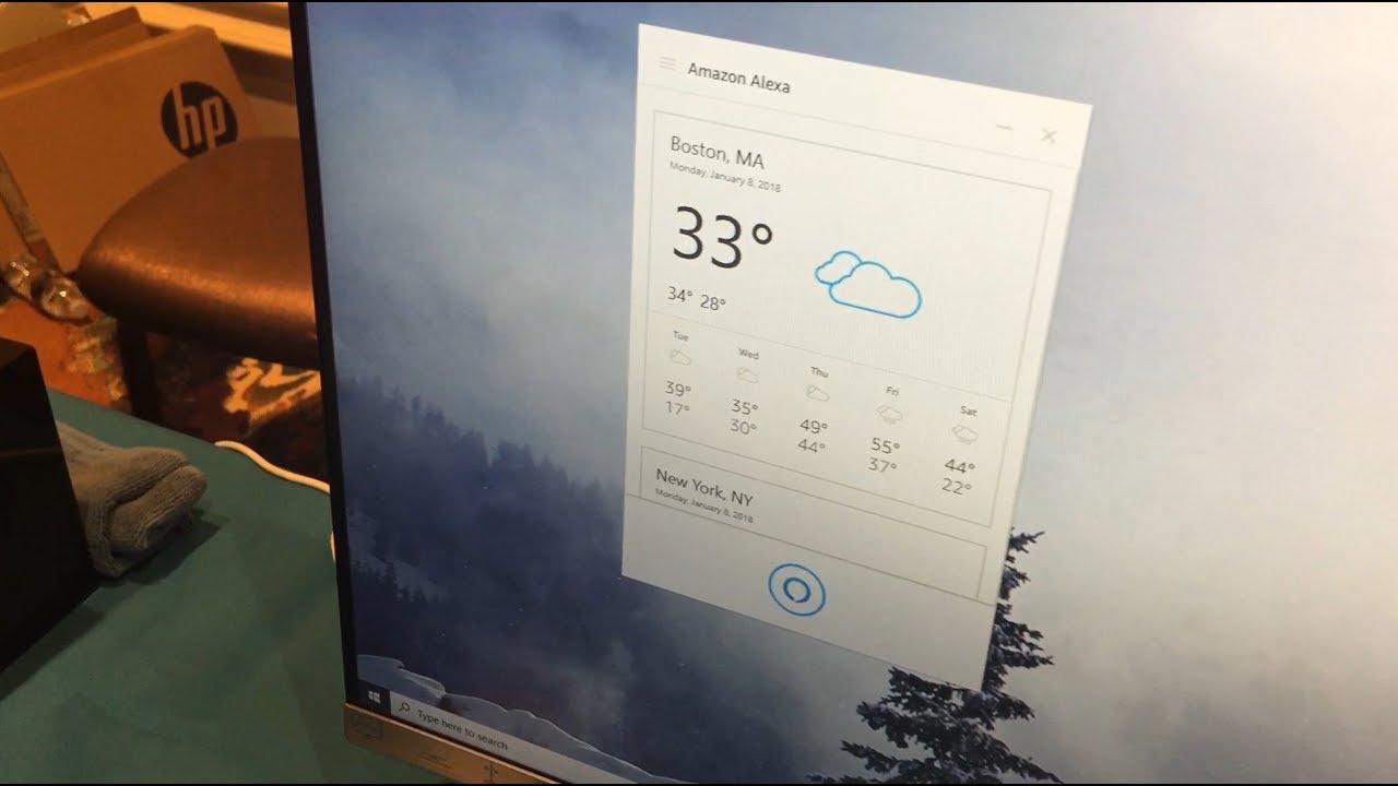 First Look: Amazon Alexa on Windows 10
