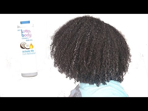LottaBody Curl Activator ❌ How Long Did This WASH AND GO Last?