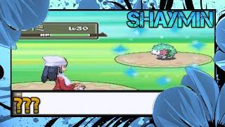 wshc 10 11 live shiny shaymin 2 in 1 35 000 pokemon platinum j