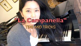"Paganini-Liszt La Campanella"" tips and tricks"