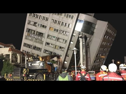 "Breaking News: ""Apocalyptic Signs Continue"" Taiwan 6.4 Quake Destroys Buildings"