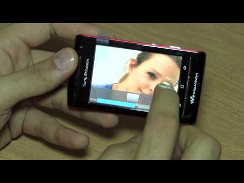 Sony Ericsson W8 Phone Walkman Unboxing And Review