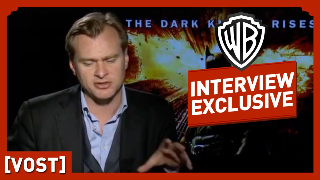 Batman : The Dark Knight Rises - Interview Christopher Nolan - Christian Bale / Christopher Nolan