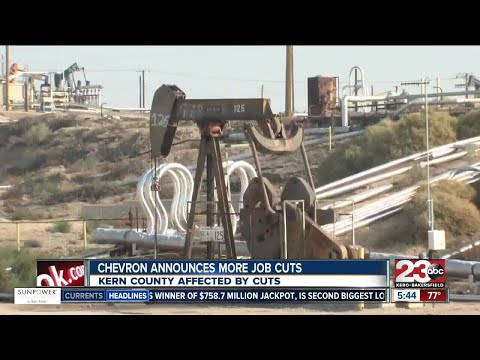 Chevron announces more job cuts in Kern County
