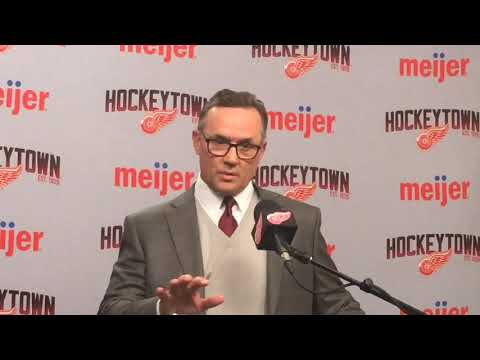 What Red Wings' Steve Yzerman Thinks Of The Return For Andreas Athanasiou