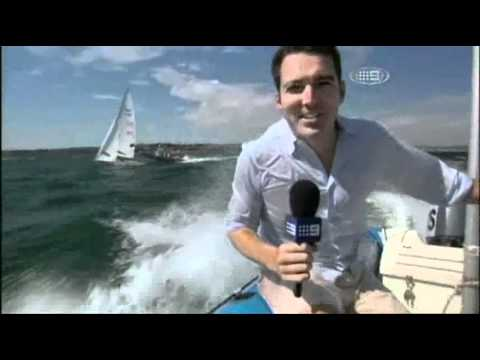 The Australian Sailing Team on Channel 9's Wide Wo...