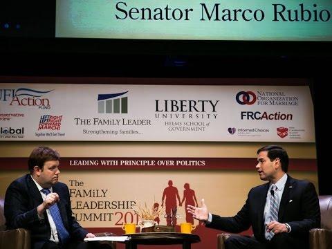 Marco Rubio - Family Leadership Summit 7-18-15