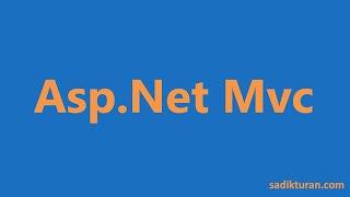 2- Asp.Net Mvc Dersleri-Proje Oluşturma