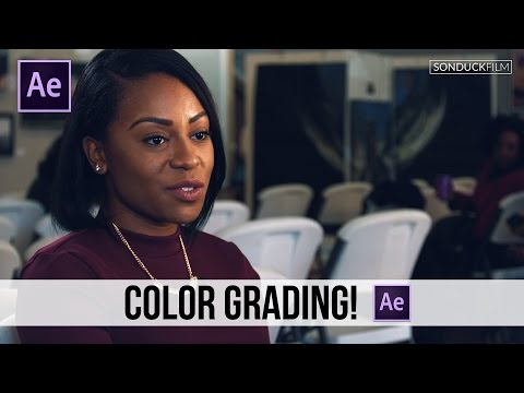 After Effects Tutorial: Best Color Correction / Grading Effect - Lumetri Color